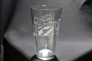 Soundwave Pint Glass