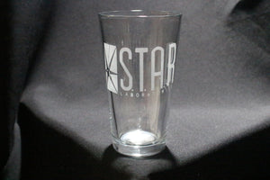 Star Labs Inspired Pint Glass