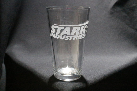 Stark Industries Inspired Pint Glass