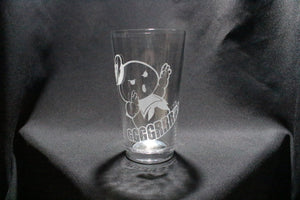 Stay Puft Ghostbusters Inspired Pint Glass