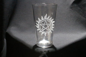 Supernatural Inspired Pint Glass