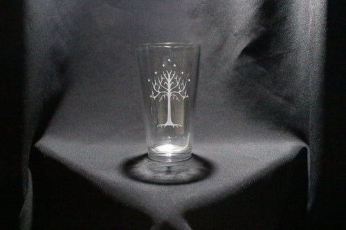 Tree of Gondor Pint Glass