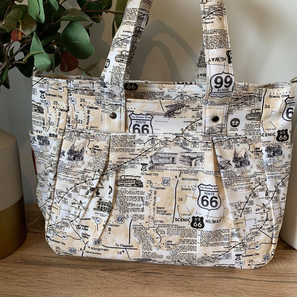 Route 66 Collection Limited Edition Mini Release - Teacher Carry All bag A3 in Polished Cotton