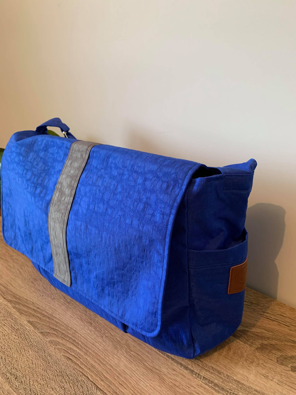 Royal Blue work bag, Messenger bag, Satchel, laptop bag,student bag, teacher bag