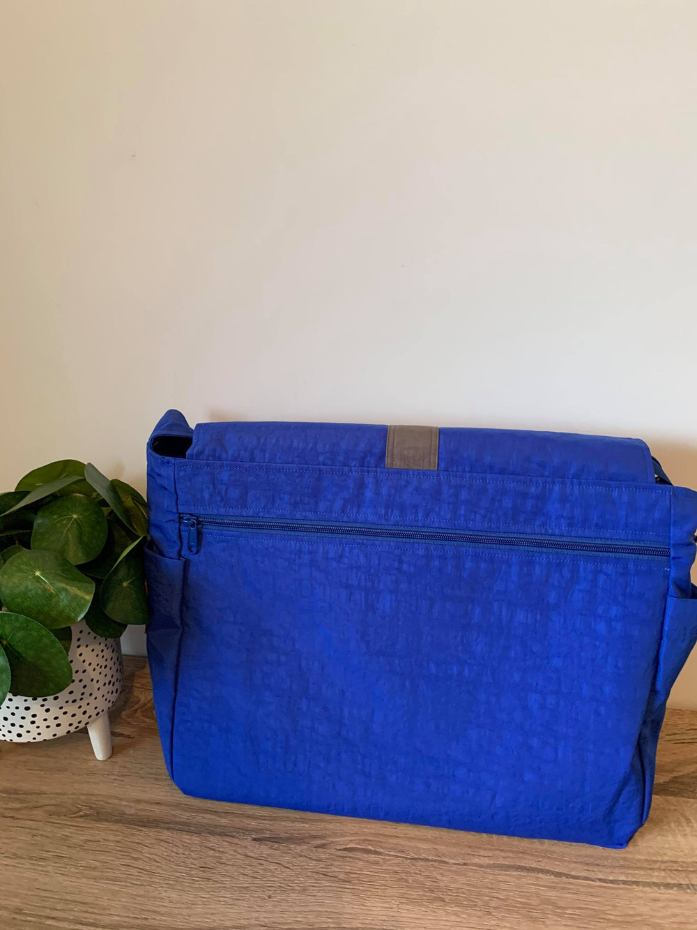 Royal Blue work bag, Messenger bag, Satchel, laptop bag,student bag, teacher bag - Teacher Carry All