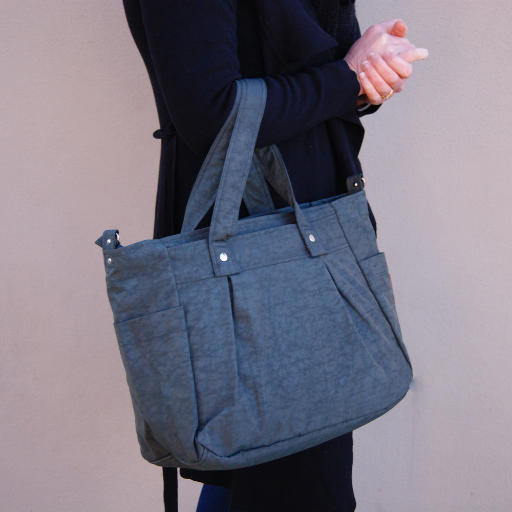 Grey Teacher Carry All bag, Teacher bag - Water Resistant