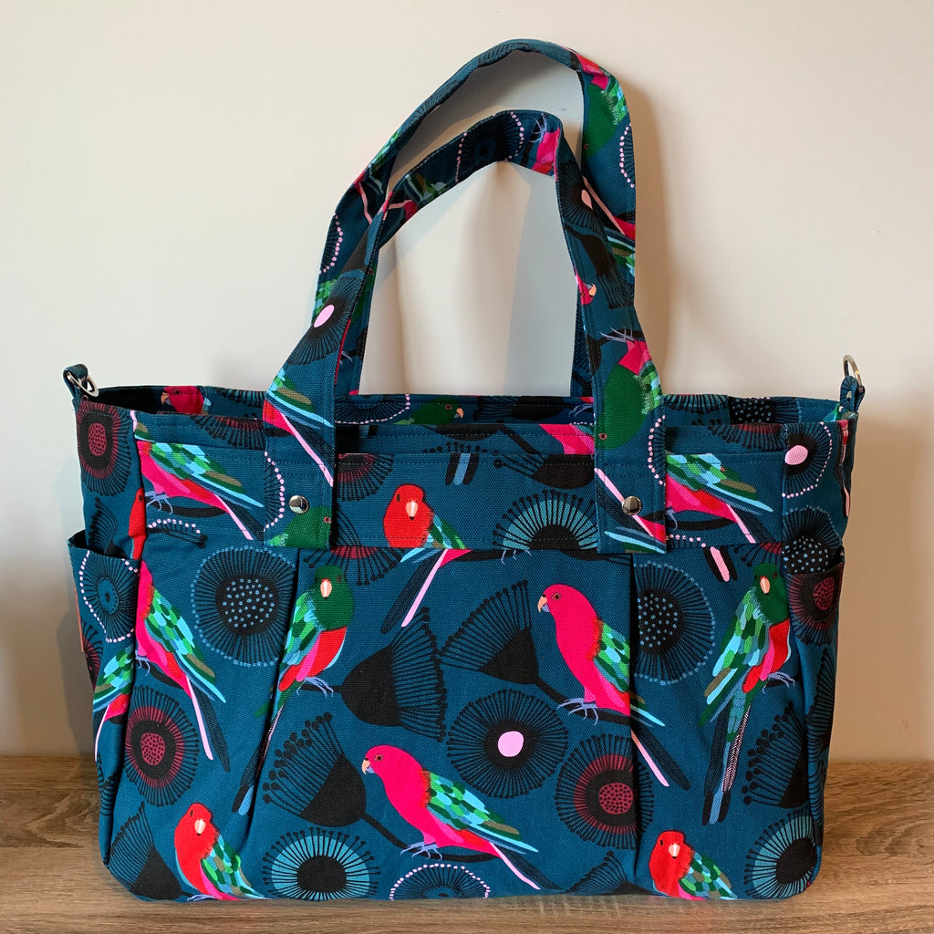 Limited Ed. Jocelyn Proust King Parrot Teacher Carry All bag-Teacher Bag-Teacher Carry All