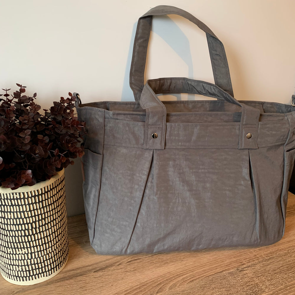 Grey A3 Teacher Carry All bag in water resistant
