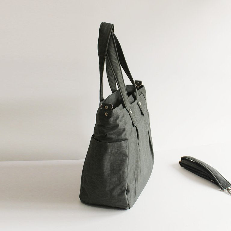 Teacher Carry All bag, Teacher bag -Grey Water Resistant-Teacher Bag-Teacher Carry All
