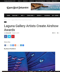 Cove Artists Featured in Laguna Beach Independent!
