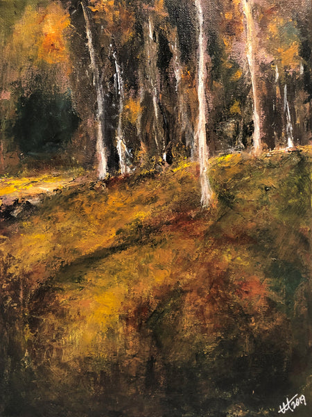 Autumnal Series No. 4 - High Country Aspens