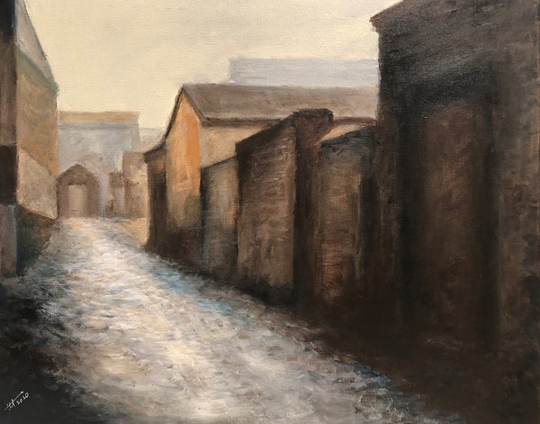 The Ancient Empty Street