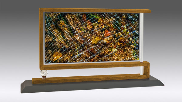 """Stream Gems"" Mantelpiece Works™ by Nancy Roux"
