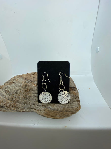 Southwest Concho earrings