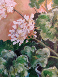 """Sunshine Geraniums"" painting by Kara Elizabeth"