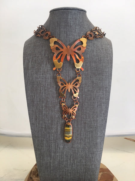 Monarch necklace by Joe McFaul