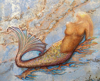 """Reclining Mermaid"""