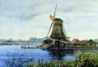 """Windmill at Zaanse Schans"""