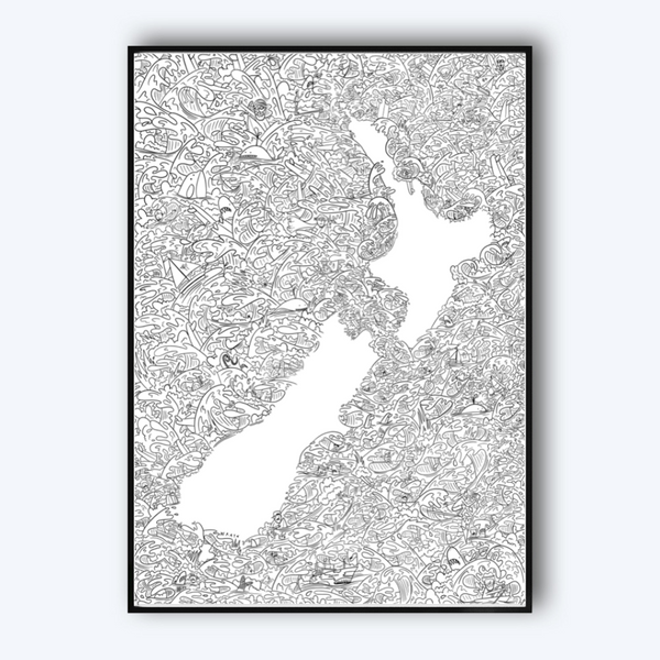 Wavy NZ (Limited Edition) by Al Wrath