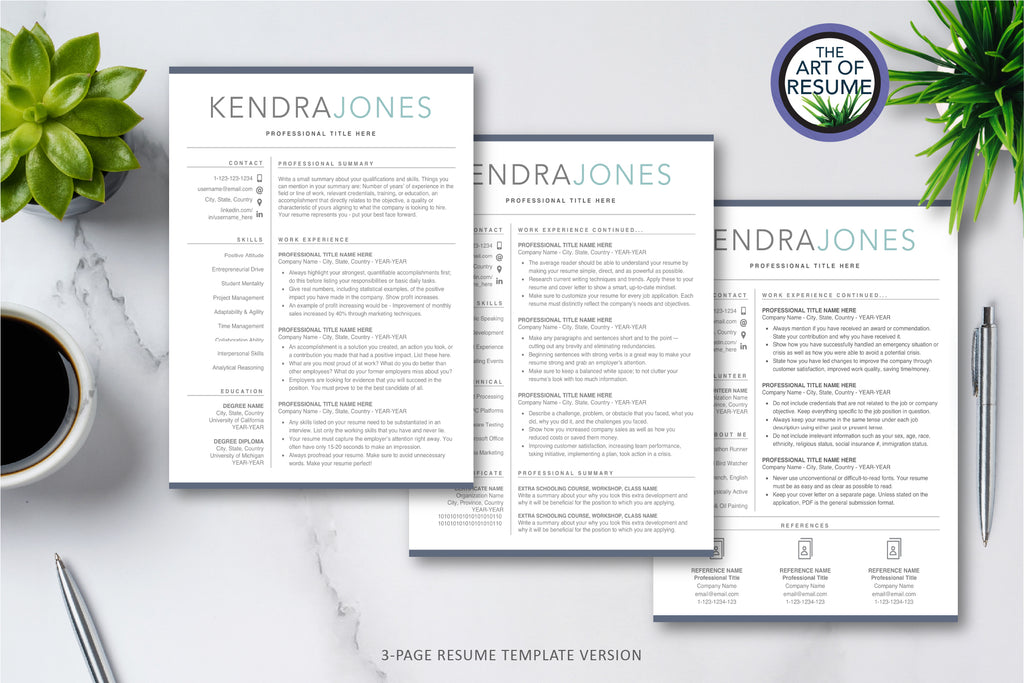 Find the right resume cv template design