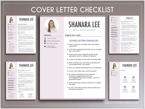 How to Write a Cover Letter Checklist Resume Template Bundle CV Templates The Art of Resume Free Resumes Icons