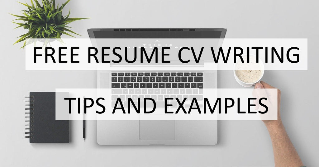 Free Resume Writing Tips and Examples