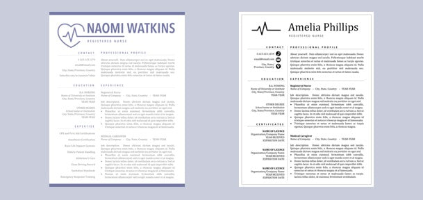 resume cv for nurse rn registered doctor medical assistant resumes cv cvs nursing template templates