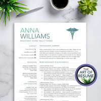 Resume for RN Nurse - Medical Resume - Nursing CV Template