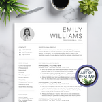 Simple Resume Templates - Minimalist Resumes - A4 & US