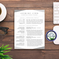 Professional Resume Template Design Builder Bundle