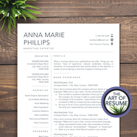 The Art of Resume - Resume Template Design Bundle