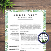 Creative resume template bundle for fashion, stylist, blogger, designer.Creative resume template bundle for fashion, stylist, blogger, designer.