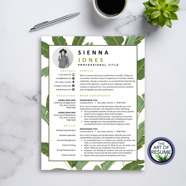 Best Creative Resume - The Art of Resume CV Template Design 2020