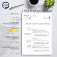 Resume Reviews - The Art of Resume - Resume Template Design Bundle