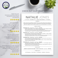 ATS-Friendly Resume CV Template Bundle with Free Resume Writing Guide - Mac & PC - Resume Reviews