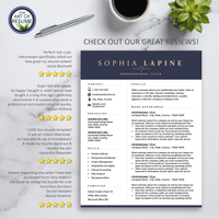 Executive Resume CV Template Design with The Art of Resume - Reviews