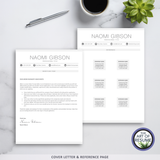 Modern Resume CV Template Design Bundle with Cover Letter