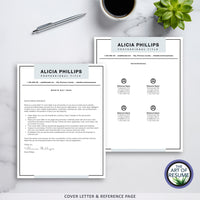 Simple Resume Template | Professional Resume | Modern CV