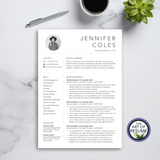 The Art of Resume Designs -Resume Template Design with Free Cover Letter and Reference Page, Instantly Download Resumes and CVs Fully Customizable Formats