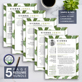 The Art of Resume CV Template Design 2020