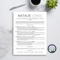 ATS-Friendly Resume CV Template Bundle with Free Resume Writing Guide - Mac & PC - Best Resumes Online