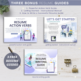 Resume Writing Help, Resume Instructional Manual, Resume Action Verb Guide