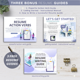 Resume Writing Manual, Resume Instructional Guide, Resume Action Verb Guide