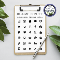 Resume Icons - Free Included