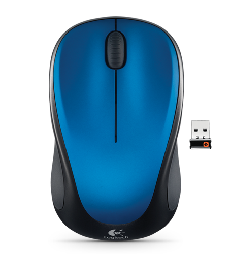 Logitech Wireless Mouse M235 - Blue