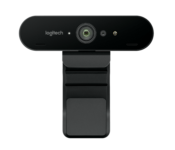 Brio 4K Ultra HD webcam with RightLightT 3 with HDR (Brown Box Packaging)