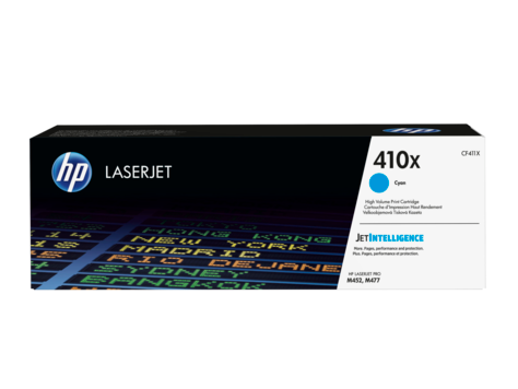 HP 410X Cyan High Yield Original LaserJet Cartridge