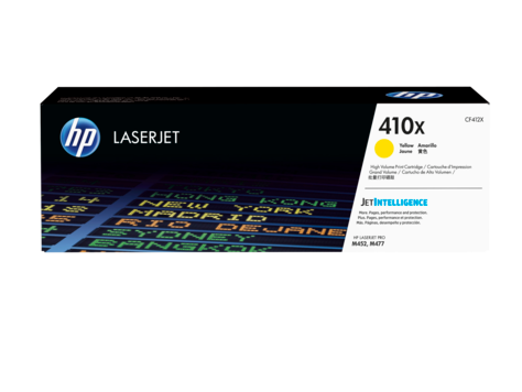 HP 410X Yellow High Yield Original LaserJet Cartridge