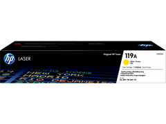 Hp 119 A Yellow Original Laser Toner Cartridge   Hp Color Laser Jet 150a/175nw/179fnw Printer