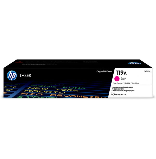 Hp 119 A Magenta Original Laser Toner Cartridge   Hp Color Laser Jet 150a/175nw/179fnw Printer